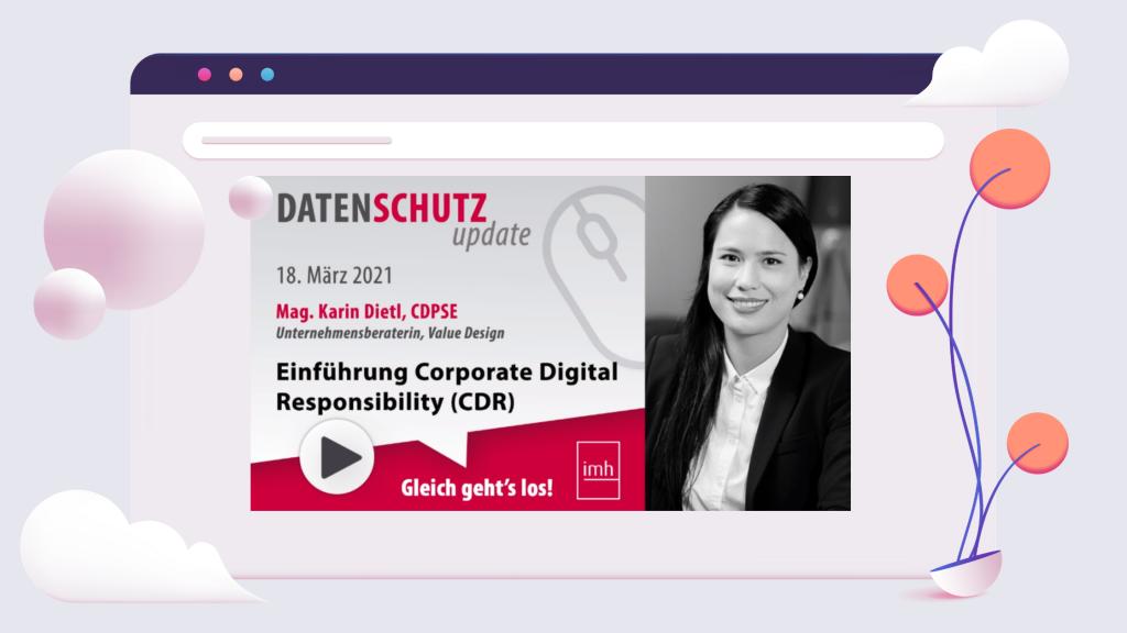 """IMH – Online Seminar Reihe """"Datenschutz Update"""""""
